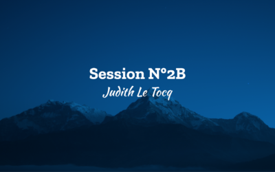 Ascension 2018 Session N°2B – Judith Le Tocq
