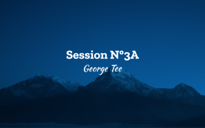 Ascension 2018 Session N°3A – George Tee