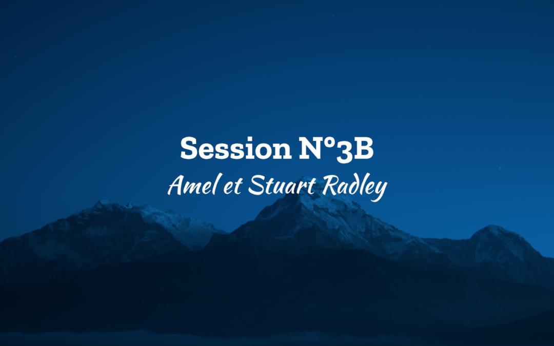 Ascension 2018 Session N°3B – Amel et Stuart Radley