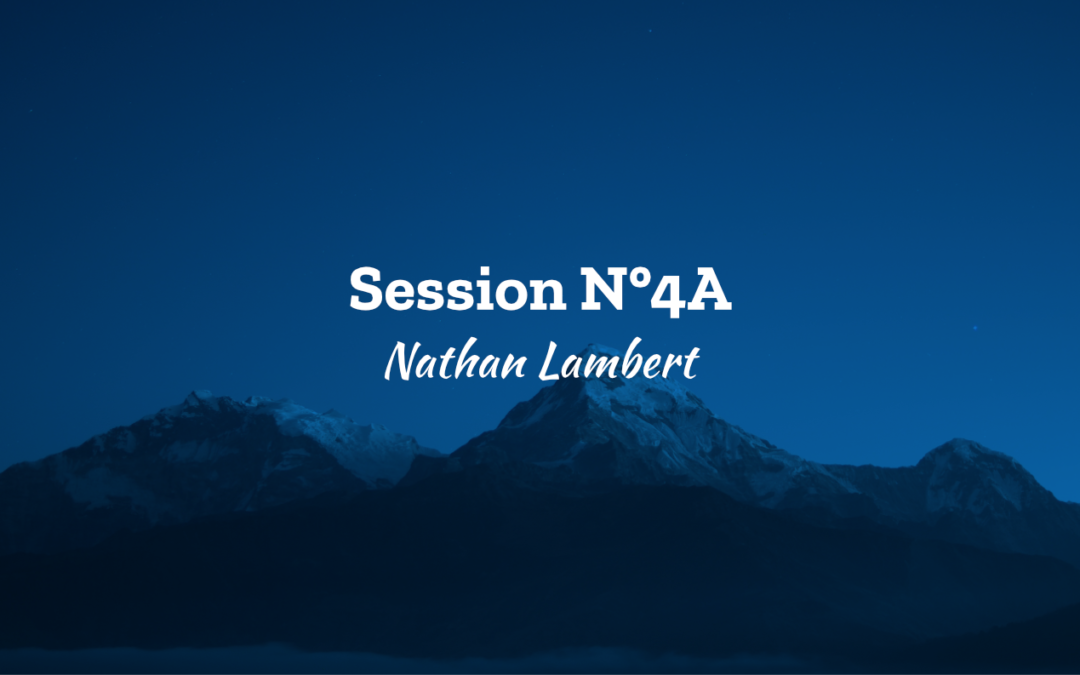 Session N°4A – Nathan Lambert